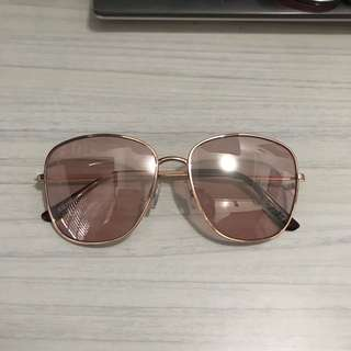 H&M pink sunglasses