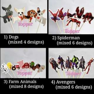 Cake Topper-various design