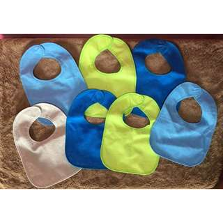 Take alL 7Pcs BABY bibs