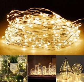 Fairy Lights warm white 10m