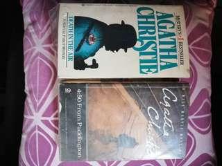 AGATHA CHRISTIE mystery novels
