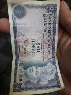 RM 1 untuk di jual
