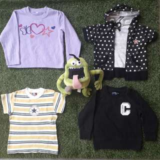 Baby Pre-owned Clothing for Baby Weight below 13KG
