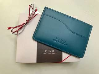 💯 Authentic FINO Leather Card Case