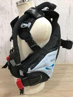 MARES KAILA MRS PLUS BCD 近全新 有快卸配重袋 SIZE XXS 潛水BC
