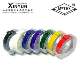 PO Motex Embossing Tape refills