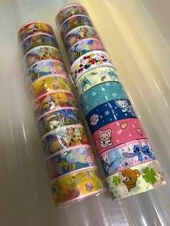 21 Rolls Little Cartoon Tape