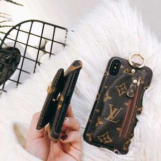 LV ip6+ case with coin purse