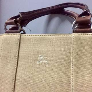 Burberry Blue Label Canvas Bag 70% new