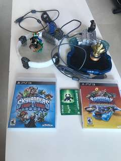 PS3 Skylanders trap team and Superchargers