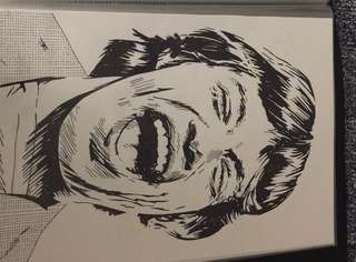 Mick Jagger Drawing