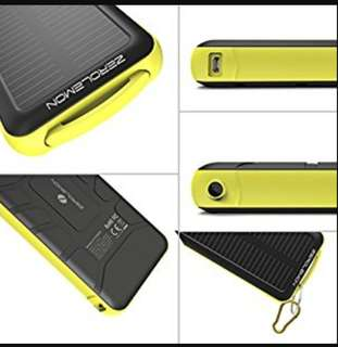 ZeroLemon SolarJuice 20000mAh power bank Solar zero lemon