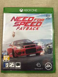 Xbox One Need For Speed : Pay Back
