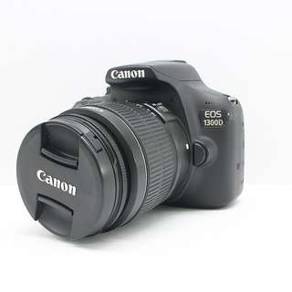 Canon EOS 1300D with 18-55mm kitlens