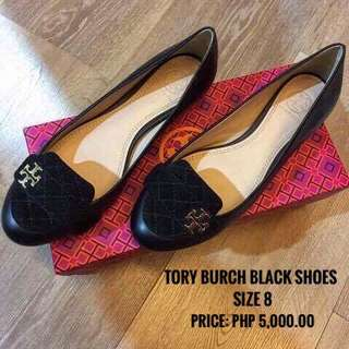 AUTHENTIC TORY BURCH Black Shoes