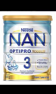 Nan optipro toddler 3