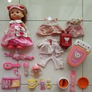 Mel Chan doll and accessories