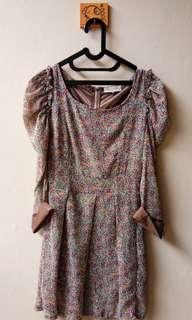 Midi Dress Motif