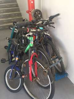 4 bicycles