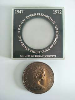 1947-1972 Elizabeth And Philip Coin