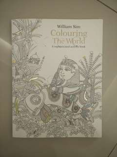 BRAND NEW Colouring The World by William Sim