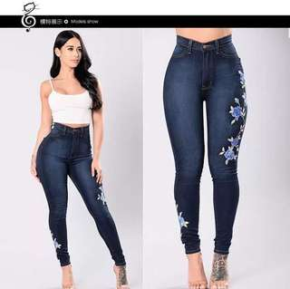 Embroide Jeans