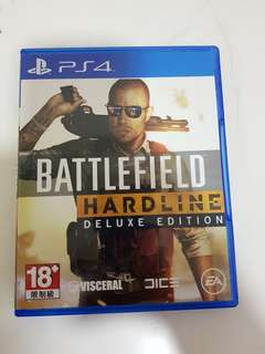 Battelfield Hardline For PS4