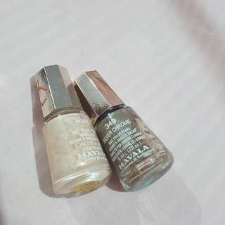 Mavala nail color