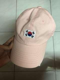 Korea Pink Baseball Cap