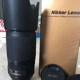 Lensa Nikkor 70-300 mm