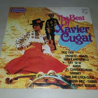The Best of Xavier Cugat LP Vinyl record