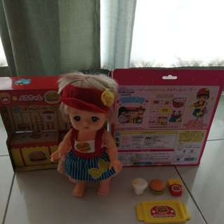 Mel Chan Burger Shop (without doll)