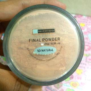Sale! Nichido Final Powder