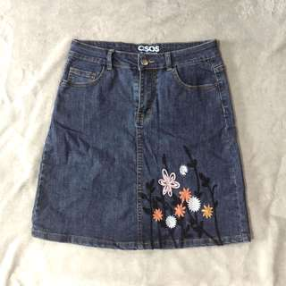 Asos Denim Skirt