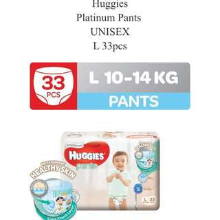 Huggies Platinum Diapers (Pants)