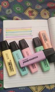 STABILO PASTEL HIGHLIGHTERS