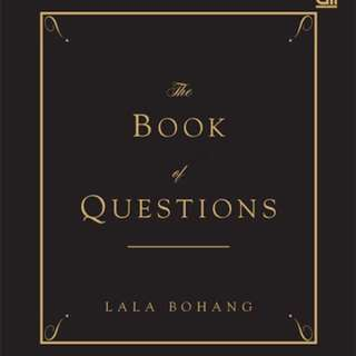 The Book Of Questions Lala Bohang
