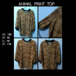 Animal Printed TOP