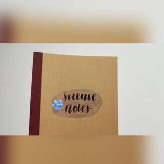 Muji Notebook Customise!!