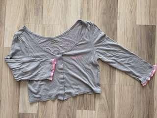 🚚 運動短版罩衫