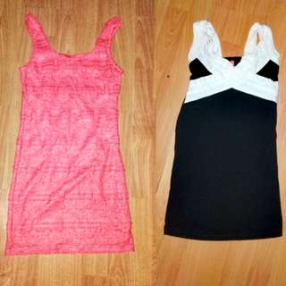 Bundle: Bandage Dress Forever 21 and Bangkok dress
