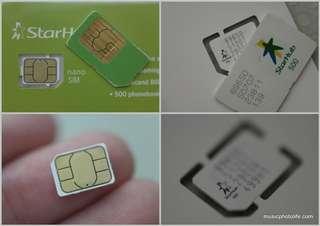 Sim card (StarHub) out of stock soon!!!