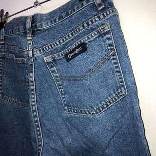 伏見古著 藍牛仔褲 復古藍 vintage