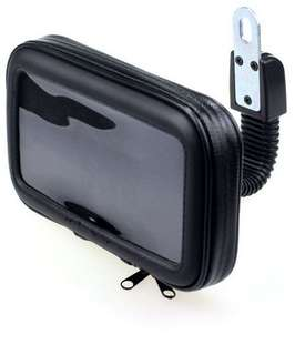 Water resistant motorbike holder case for mobile /gps