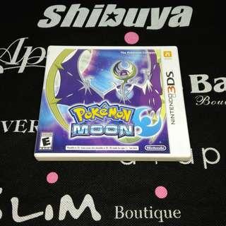 3DS GAME Pokémon Moon