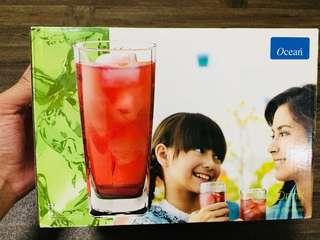 Ocean Soft Drink Glass