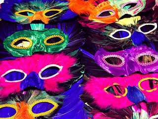 Handmade party masquerade mask