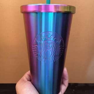 Iridescent Starbucks Tumbler