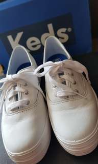 Keds Triple Leather White