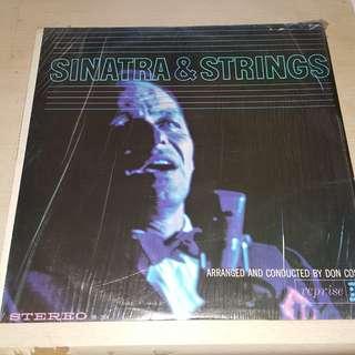Sinatra & Strings LP Vinyl Record